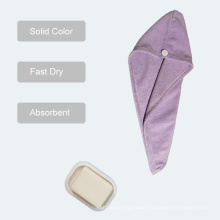 Fashion Microfiber Fast Dry Cap Hair Towel, Soft and Absorbency Dyed Printed Bath Face Hand Hair Towel