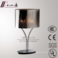 Classic Hotel Decorative Stainless Steel Carving Shade Table Lamp