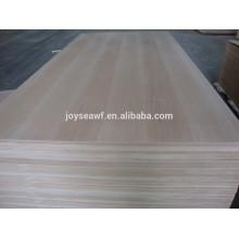 Contreplaqué à la presse chaude avec l'utilisation en gros de prix bon marché pour la fabrication de meubles et de la construction