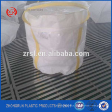 small size big bag - fibc bag with small suare bottom -which can hold 300kg only white 2 loops bag