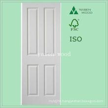 Contemporary Interior MDF White Panel Wooden Door