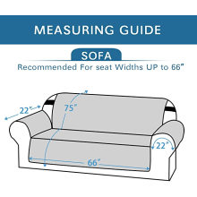 Мягкие водонепроницаемые чехлы для диванов из микрофибры