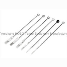 Professional 316L Medical Stainless Steel Tattoo Needle Pre-Sterilized with E. O.