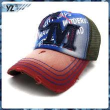 2015 neue produkt Hut Stoff appllique Stickerei Kind mes Trucker Cap benutzerdefinierte Werbeartikel