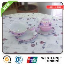 6PCS Porcelain Tableware pour les enfants