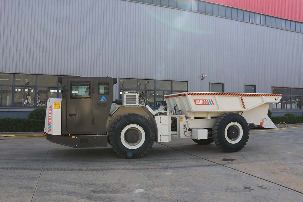 Underground Utility Truck Vehicle