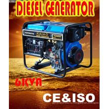 Портативный дизельный генератор 6kw Genset для Южной Африки