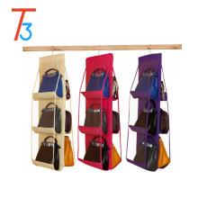 3-lagiger und 4-lagiger Handtaschen-Organizer mit Metallhaken