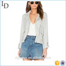 2017 ladies Wholesale Softshell Fashion Outwear Jacket para mujeres