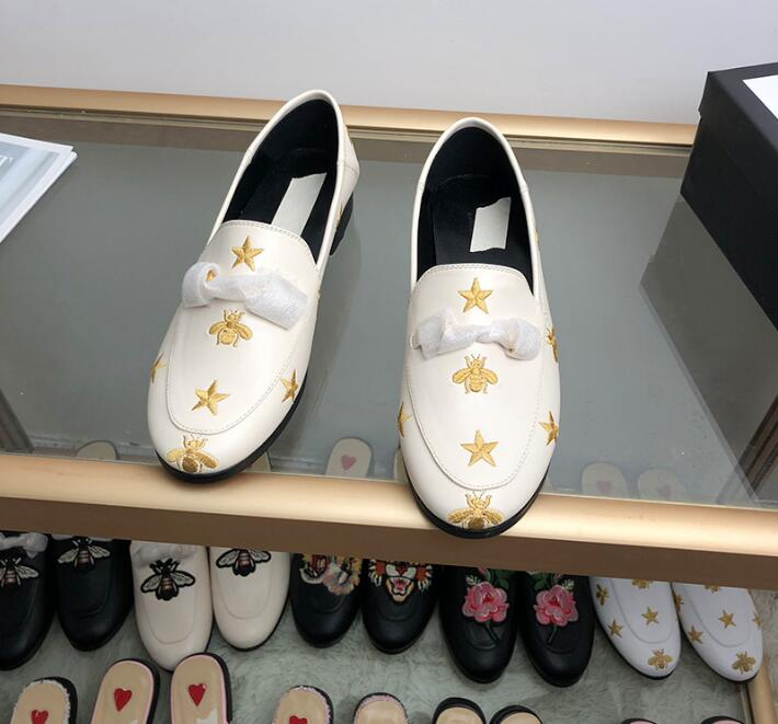 Loafer Shoes Embroidery