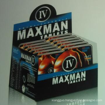 Hot Sale Maxman Enlargement Sex Pills (MJ-MM60 CAPS)