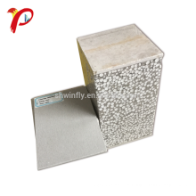 Panel de pared del emparedado del cemento / panel de bocadillo ligero concreto impermeable del cemento Eps