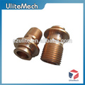 Shenzhen high quality OEM cnc lathe parts with mass production
