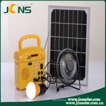 Energía de energía de almacenamiento solar para cargar / iluminar / acampar móvil