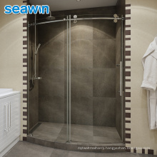 Seawin Black Curved Neo Angle Corner Tempered Glass Shower Cubicle Door Room