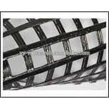 Warp-Knitted Polyester Geogrid