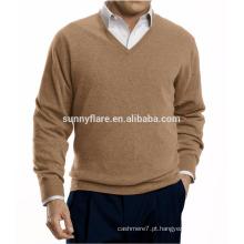 Fit Warm Men Pure Cashmere Sweater