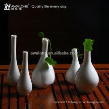 Vente chaude nouveau design en céramique porte-fleurs en porcelaine