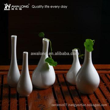 hot sale new design ceramic flower receptacle porcelain flower pot stands designs