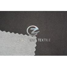Tecido de veludo de malha Br colado com forro de tricô para roupas e sofá