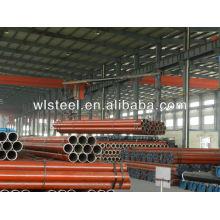 ASTMA106 Gr.B / Q235 / Q345 10 pulgadas de tubería de acero al carbono programa 40para la alimentación de fluidos