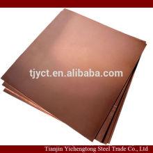 c1100 / c1220 / c1020 folha de cobre 2mm