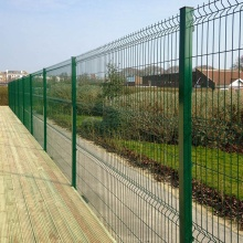 pvc coated welded electric galvanized wire mesh fence