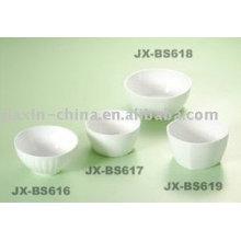 Korea style white porcelain bowl JX-BS616-619