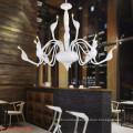 Cheap Contemporary Metal Decorative Swan Chandelier Lamp 29001