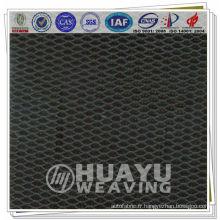 YT-2025, tissu en maille, tissu en maille en polyester et écarlate pour siège auto