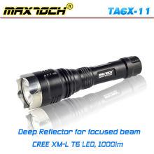 Maxtoch TA6X-11 caça tocha luz bateria recarregável