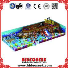 Pirate Ship Children Indoor Playground Equipment for Recreation Centre
