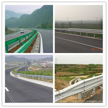 Ce Certificate Hot DIP Galvanized Coated W Beam Highway Guardrail Construction