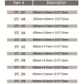 Hoja de hormigón Storm Series Supreme Pro (soldada con láser)
