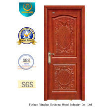 European Style Wood Door with Beautiful Carving (DS-6008)