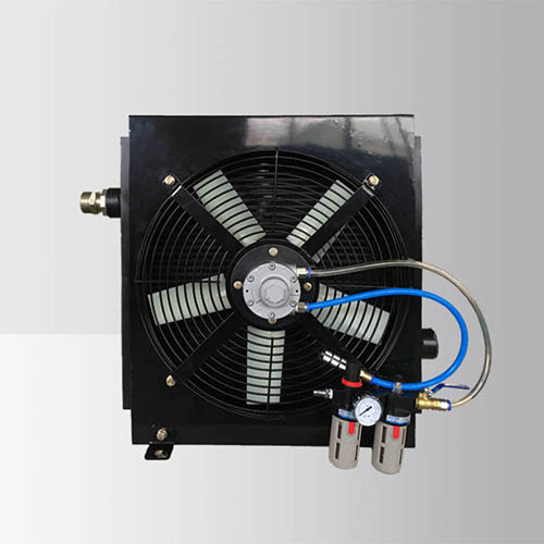 Pneumatic Driven Fan Bar Plate(Plate-fin) Heat Exchanger