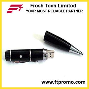 Pointeur laser USB Pen Shape Flash Drive (D451)
