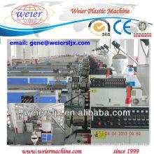 máquina de fabricación de compuestos de plástico de wpc única
