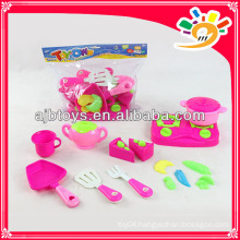 Toy plastic cooking set kids cooking play set toys