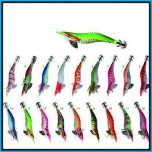Attraktive und lebendige Tintenfisch Jig in Multi-Color