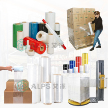 Alps Stretch Pallet Jumbo Roll Packing Film Plastic Film Lldpe Stretch Film Wrap Transparent