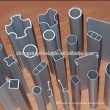 irregular de tubo de acero con acero tubería y tubos