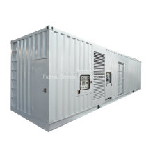 Générateur diesel de type silencieux conteneurisé par 800 kilowatts de 40 kilowatts avec le moteur de Perkins UK