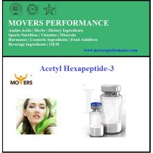 Peptide cosmétique de haute qualité Acetyl Hexapeptide-3