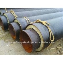 Tubo aislante enterrado directamente prefabricado
