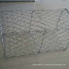 Al (5%) + Zn95% Double Twist Gabion Mesh