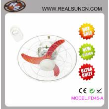 Ventilador de órbita de 18 polegadas com oscilação de ângulo grande de 360