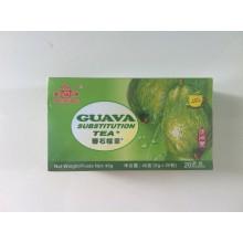 Infusion de sachet de thé-goyave saveur thé-fruits