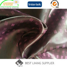 T/R Poly Viscose Mini-Jacquard Woven Lining Fabric for Men′s Suit