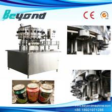 Système de fabrication de remplissage de boisson gazéifiée de contrôle PLC